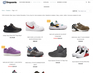 Products Are Live on Dropcents